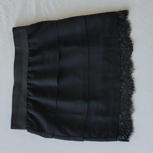 Central Park West Woman's Black Skirt